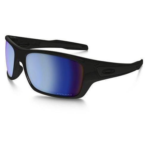Okulary Oakley TURBINE Polished Black Prizm Deep H2O Polarized OO9263-14