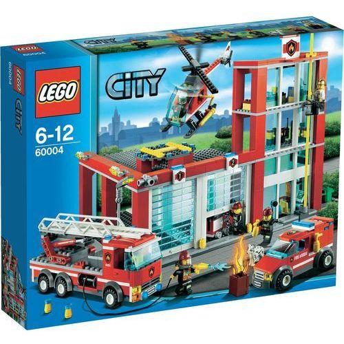 Lego City REMIZA STRAŻACKA 60004 z kategorii: klocki dla dzieci