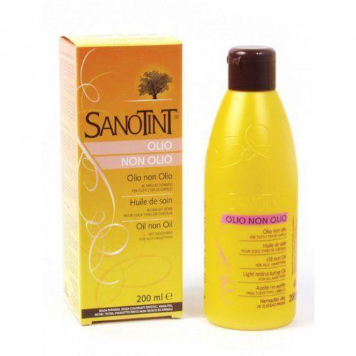 Beztłuszczowy olejek regenerujący do włosów OLIO NON OLIO Sanotint 200ml