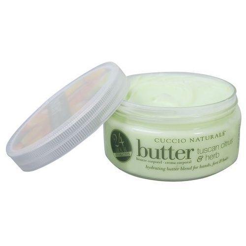 butter blend | nawilżające masło do ciała - cytrus i zioła 226g marki Cuccio