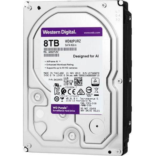 Western digital Dysk twardy do rejestratorów cyfrowych wd purple 8tb