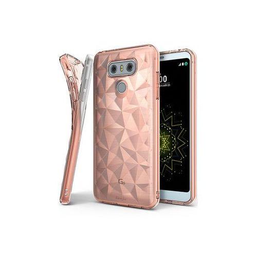 LG G6 - etui na telefon Ringke Air Prism - różowy, ETLG495RGAPPIK000