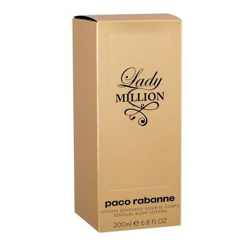 Paco rabanne lady million body lotion 200ml (3349668540792)