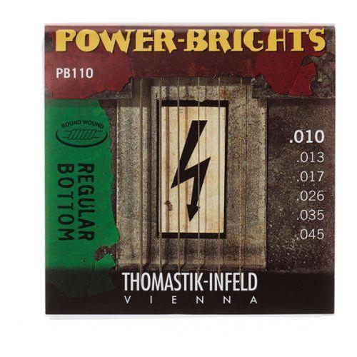 pb110 (677027) struny do gitary elektrycznej power brights series komplet marki Thomastik