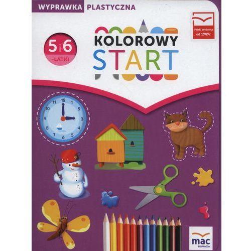 00 KOLOROWY START RPP PRACE PLAST+TECZKA MAC 9788378739425 + zakładka do książki GRATIS, Wydawnictwo Mac Edukacja