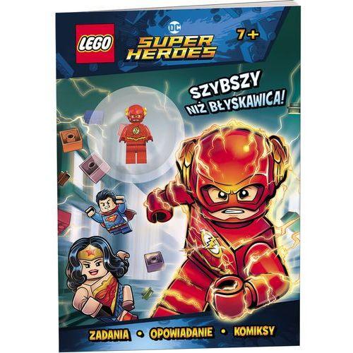 KSIĄŻKA LEGO® DC COMICS. Szybszy niż błyskawica!