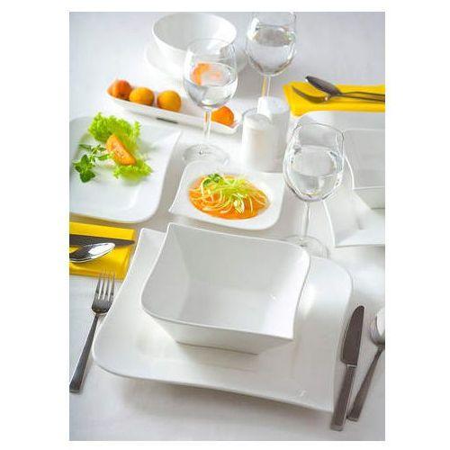 Komplet obiadowy Fala 18 elementów (śr. 260) ze sklepu www.dobregarnki.pl