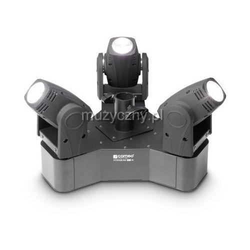 Cameo CLHB300W HYDRABEAM 300 W - 3 ruchome głowice Beam LED 10W na jednym cokole
