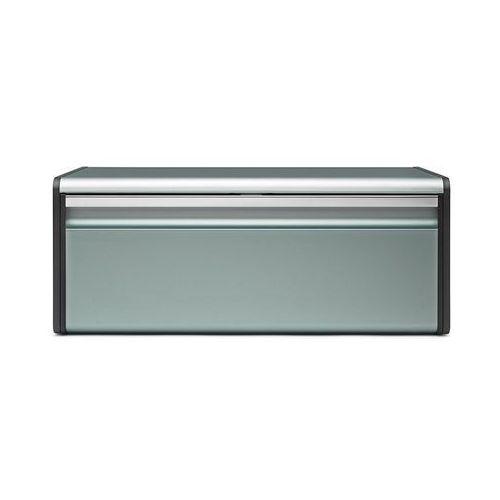 Pojemnik na pieczywo Brabantia prostokątny metaliczny miętowy