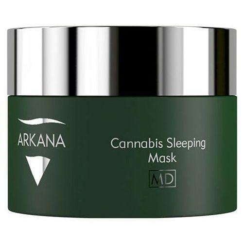 Arkana CANNABIS SLEEPING MASK Kanabisowa maska na noc dla skóry dysfunkcyjnej (53011)