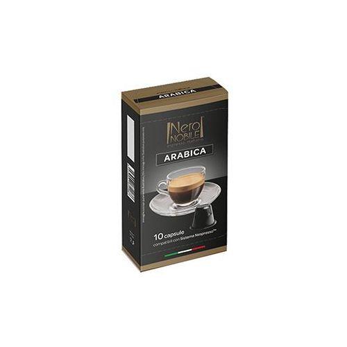 Kapsułki do nespresso* arabica 10 kapsułek - do 12% rabatu przy większych zakupach oraz darmowa dostawa marki Nero nobile