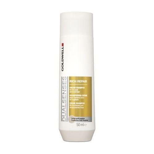 Goldwell dualsenses rich repair | szampon regenerujący 50ml