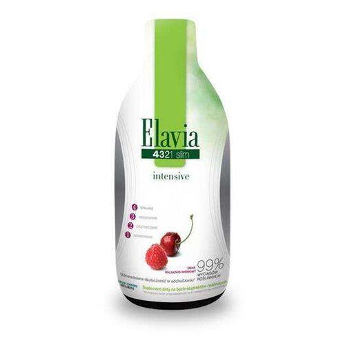Elavia 4321 slim intensive plyn 500 ml - kapsułki Tabletkina odchudzanie