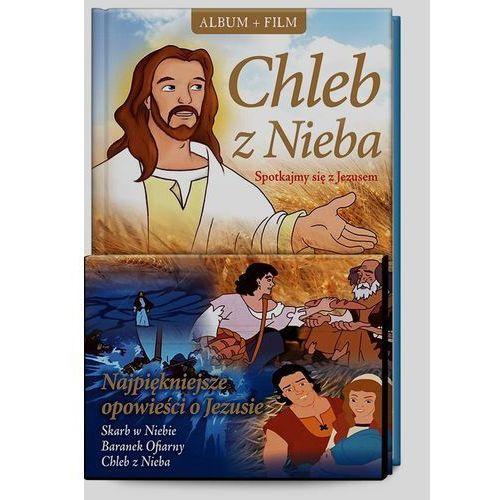 Chleb z nieba. spotkajmy się z jezusem + film dvd marki Śnieżkowska-bielak elżbieta