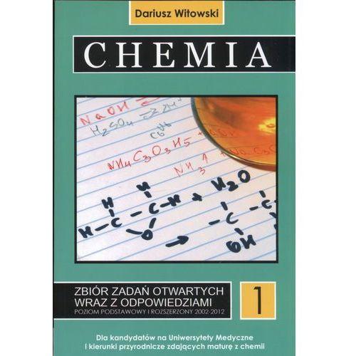 Chemia T.1 Matura 2002-2021 zb. zadań wraz z odp.. dla kandydatów na Uniwersytety Medyczne i kierunki przyrodnicze zdających maturę z chemii - Witowski Dariusz, Witowski Jan Sylwester - książka, oprawa miękka
