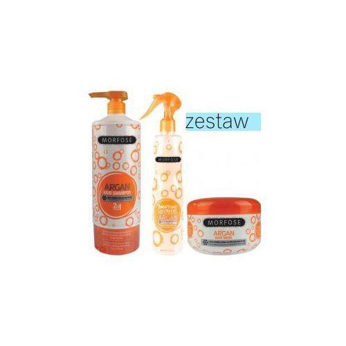 Morfose zestaw arganowy szampon 1000ml odżywka 400ml maska 500ml