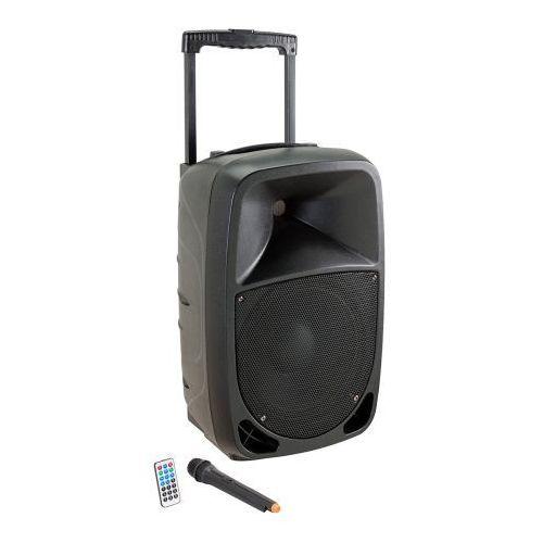 Soundsation GO-SOUND 10AMW kolumna aktywna 10″ 360W Bluetooth/MP3, w zestawie mikrofon bezprzewodowy