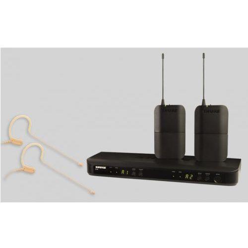 blx188/mx153 sm wireless mikrofon bezprzewodowy podwójny, nagłowny mx153 marki Shure