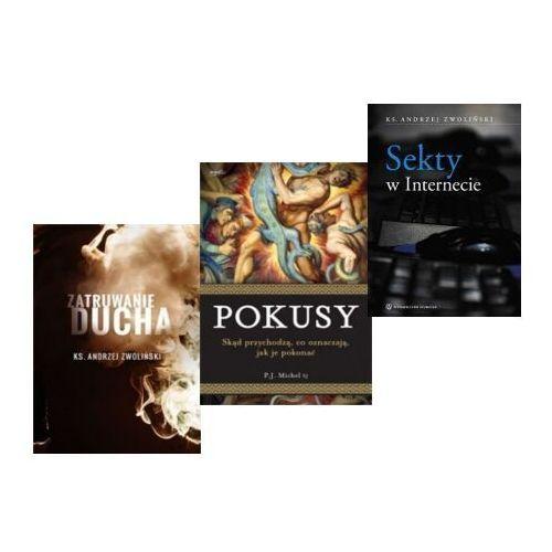 Pakiet trzech książek o zagrożeniach duchowych