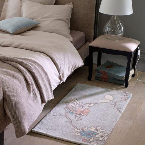Dywanik przed łóżko, z wełny, tuftowany, BIRDY - oferta [05bfd842f30f4489]