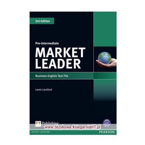 Market Leader 3rd Edition Pre-Intermediate Test File, oprawa miękka