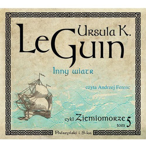 Ziemiomorze T.5 Inny wiatr Książka audio CD MP3, Ursula K. Le Guin