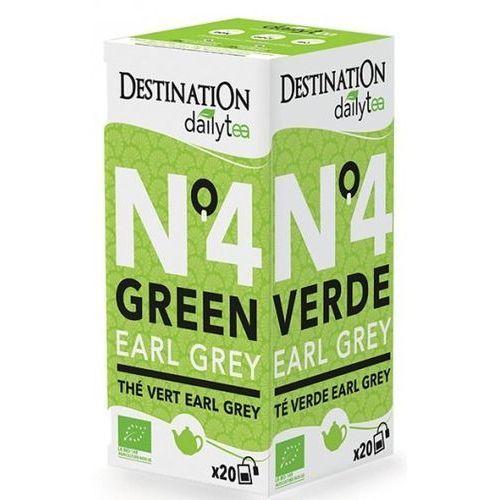 Herbata zielona earl grey 20x2g - - eko marki Destination