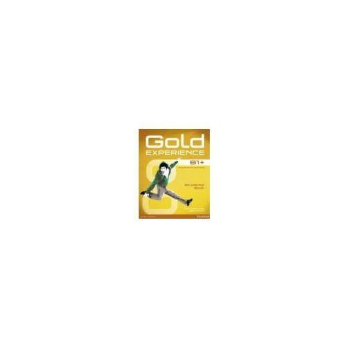 Gold Experience B1+. Podręcznik + DVD-Rom, Pearson