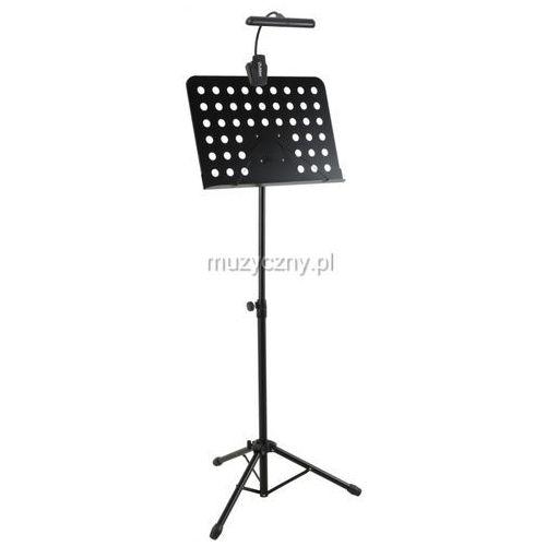 MLight FL-9030 10LED + DC900 - pulpit do nut + lampka diodowa orkiestrowa z pokrowcem (baterie/zasilacz)