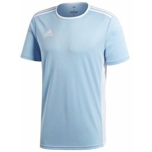 Koszulka dziecięca entrada 18 cd8414 - błękitny marki Adidas