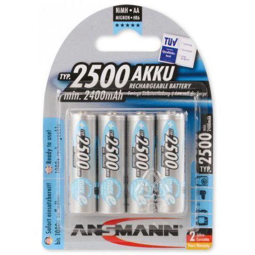 Bateria ANSMANN maxE Plus 4x Mignon AA (4 sztuki) (4013674354429)