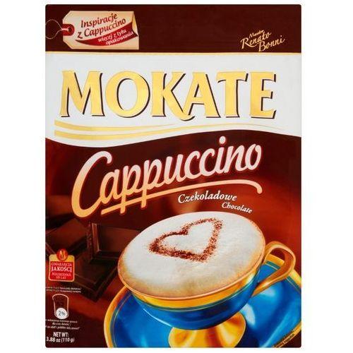 Mokate Cappuccino z belgijską czekoladą caffetteria 110 g (5902891280224)