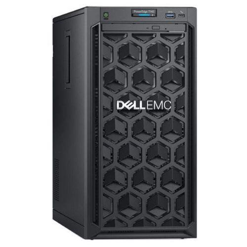 Serwer Dell T140 Intel Xeon E-2124 4-core 3.3GHz / RAM 8GB DDR4 / sprzętowy Raid5 Perc H330, PET140PL02
