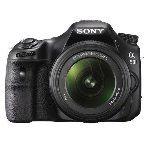 SLT-A58 marki Sony - lustrzanka cyfrowa
