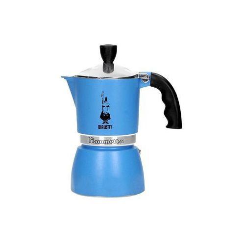 Bialetti  kawiarka fiammetta 3 tz niebieska