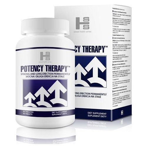 Potency therapy 60 kaps. silniejsza erekcja 29990246 marki Shs