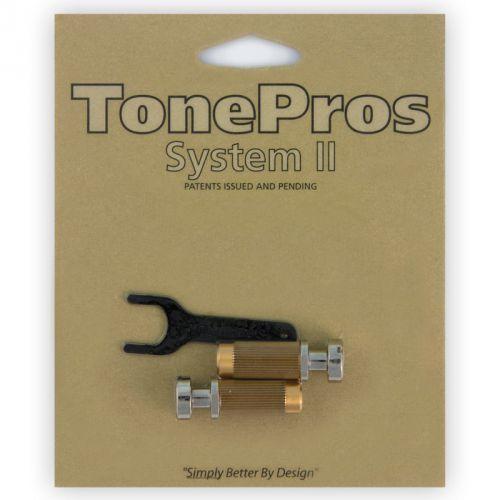snm1-n - locking studs, części mostka do gitary, niklowane marki Tonepros
