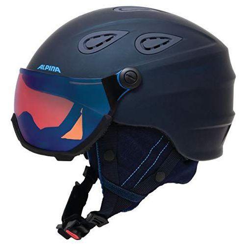 Alpina grap visier hm - kask narciarski z szybą wizjer r. 57-61 cm