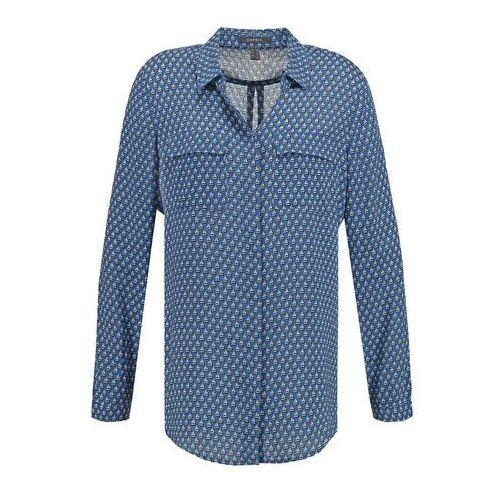 Esprit Collection Koszula blue ze sklepu Zalando.pl