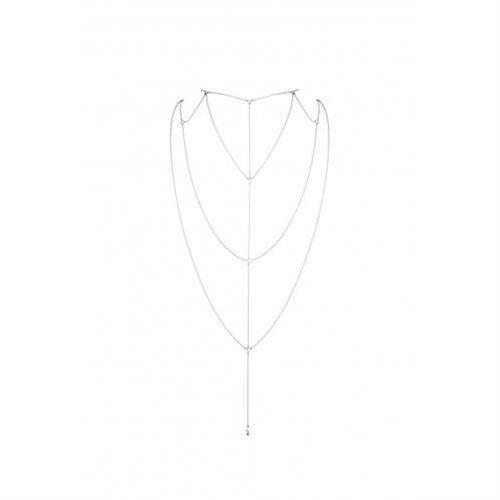 Bijoux Indiscrets - Magnifique Back & Cleavage Chain (srebrny) (8436562011789)