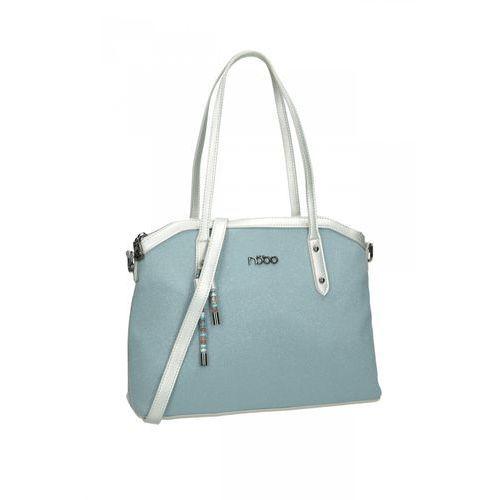 4655f029eecbe Nobo Błękitna torba miejska - 229,00 zł użyteczna torba miejska od firmy  Nobo. Utrzymana w pastelowym odcieniu niebieskiego. Torba została  wytworzona ze ...