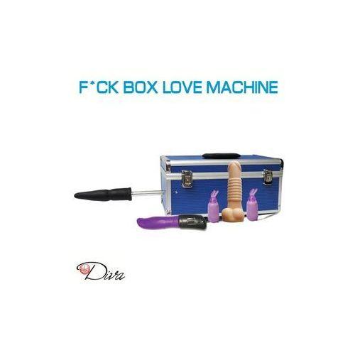 Kompaktowa Sex Maszyna z wymiennymi końcówkami
