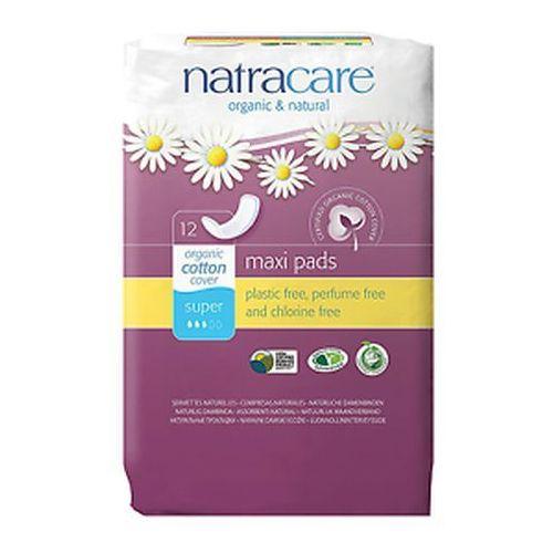 Podpaski Higieniczne o Zaokrąglonym Kształcie Bez Skrzydełek Super 12szt - Natracare