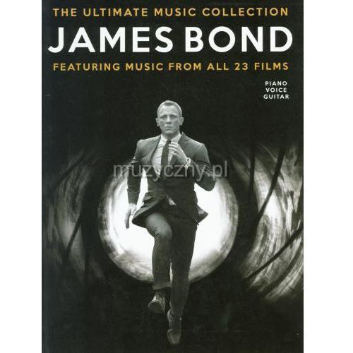 Pwm różni - james bond. the ultimate collection (utwory na fortepian, wokal i gitarę)