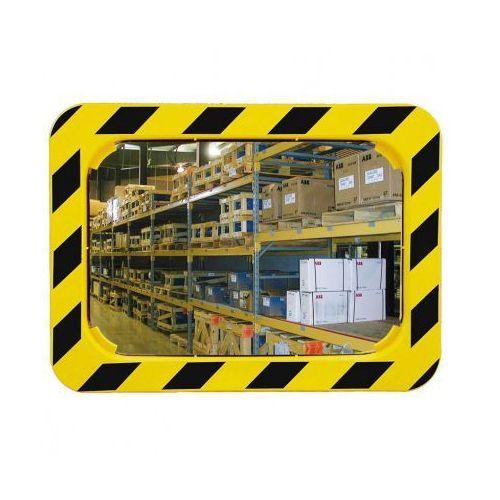 Lustra zwiększające bezpieczeństwo z żółto-czarną ramą marki Vialux