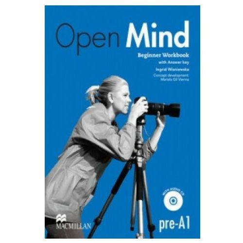 Open Mind Beginner. Ćwiczenia z Kluczem + CD, Ingrid Wisniewska