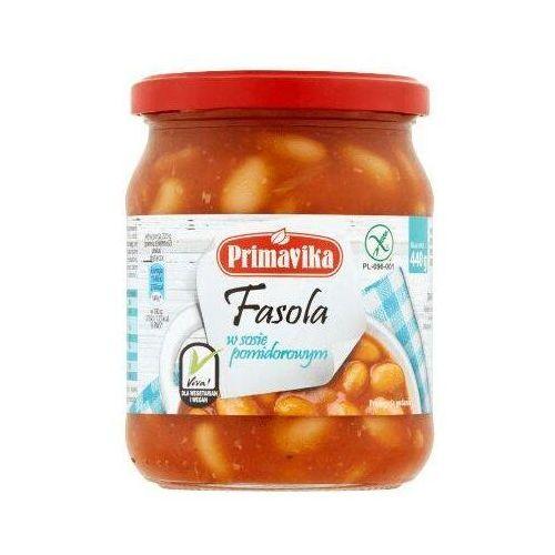 Fasola w sosie pomidorowym Primavika 440 g (5900672300024)