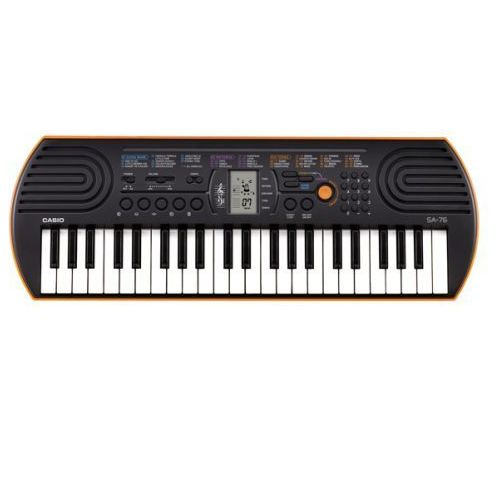 CASIO SA 76 keyboard