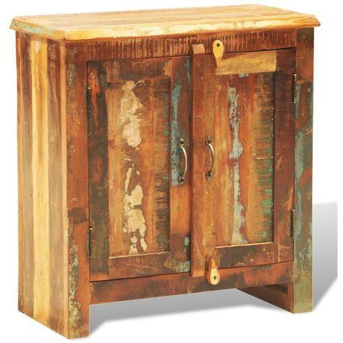 vidaXL Dwudrzwiowa szafka z drewna rozbiórkowego w antycznym stylu ze sklepu VidaXL