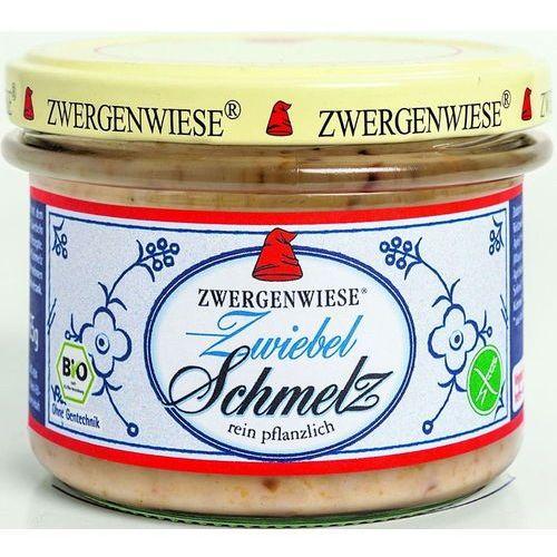 Smalczyk wegetariański z cebulą bio 4 x 165g bezglutenowy marki Zwergenwiese